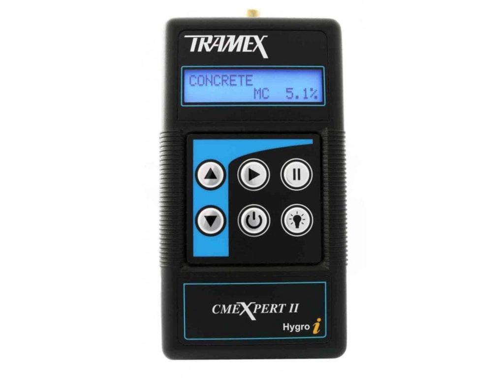 Tramex Cmex2 Concrete Moisture Meter Digital Tequipment