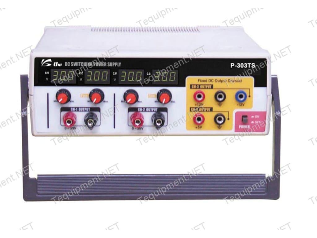 Unisource P-303TS Quadruple Output DC Switching Power Supply