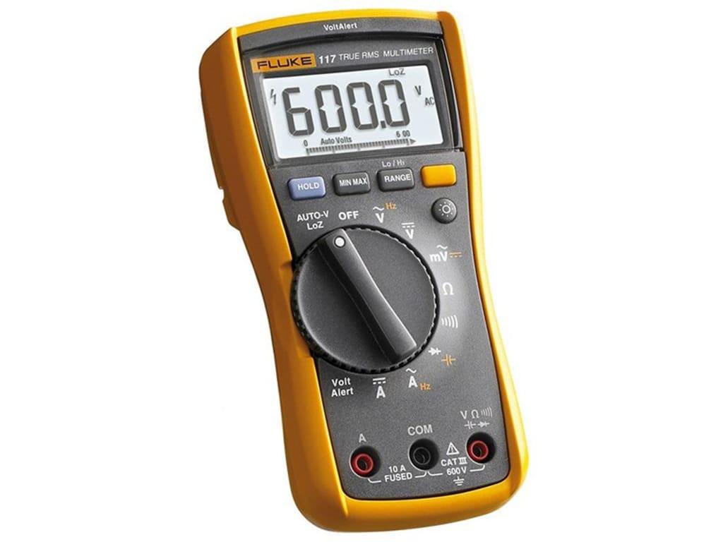 Fluke 117 Handheld Multimeters Type Digital