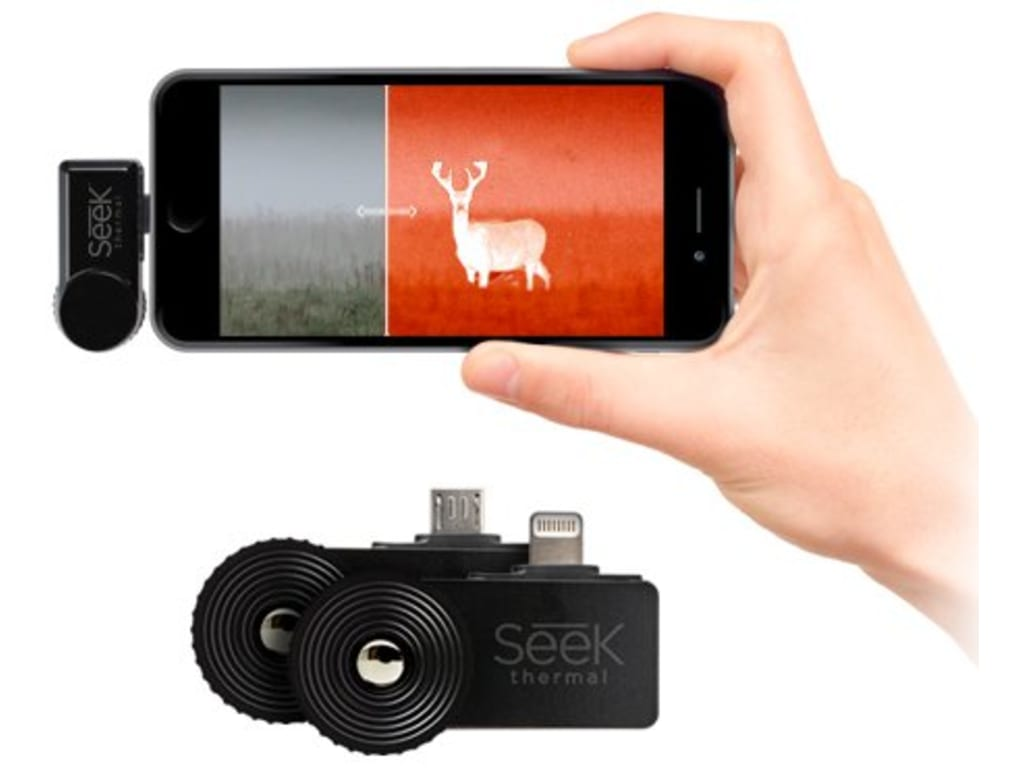 seek thermal compactxr thermal imaging camera for iphone