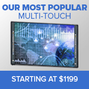 our most popular multi touch - starting at just 1199
