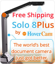 Free shipping HoverCam Solo8 Plus