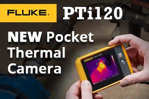 Fluke PTi120 120x90 pocket thermal camera