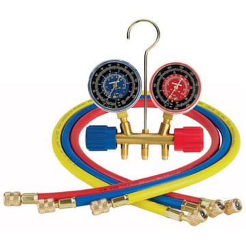 Robinair 40169 - 2 Way Brass Manifold, R22/134a, 60
