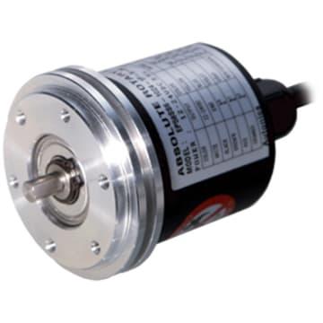 1024 Pulse NPN Binary code Absolute Rotary Encoder EP50S8-1024-2F-N-5 CW direc