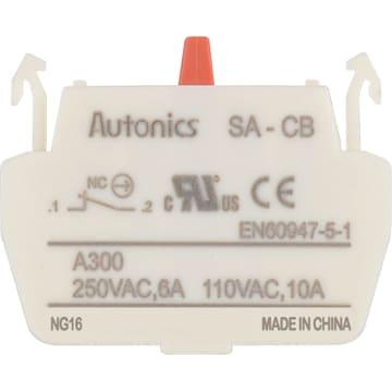 Normal Open 220VAC//5A 110VAC//10A Autonics SA-CA Contact Block