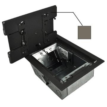 Fsr Rfl4 5 D2g Cly Raised Access Floor Box Clay Trim