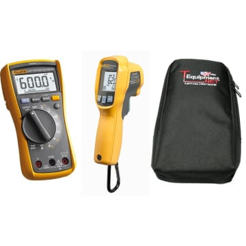 Fluke 117 Electrician S Multimeter With C35 Soft Carrying Case Tequipment