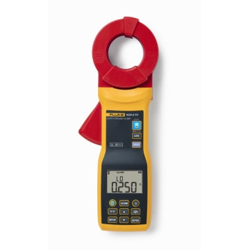 39mm 1 Each Clamp On Earth Resistance Tester Jaw Capacit 1.5 0.050 to 1500 ohm Ground Resistance Range