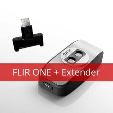 Flir One and Lightning Extender