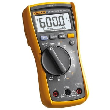 2a1cbed6968 Fluke 117 Electrician s Multimeter with Non-Contact Voltage ...