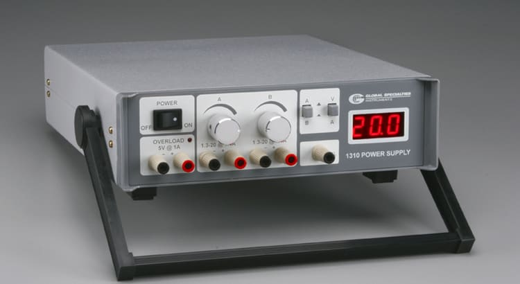 /< Global Specialities Model 1310 Power Supply 105-1310 DC