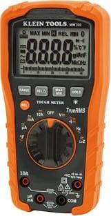 Klein Tools MM700 Digital Multimeter, Auto-Ranging, 1000V