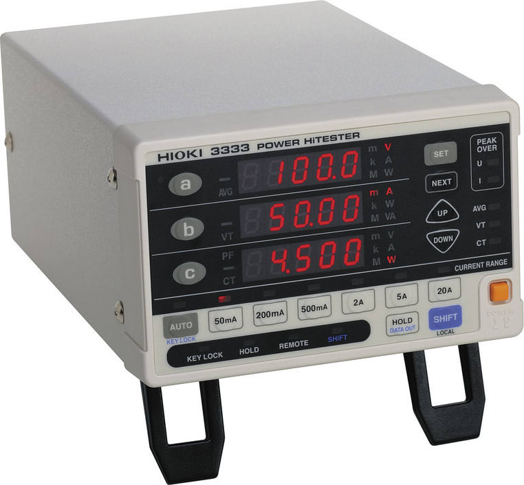 Hioki 3333 Single Phase Power HiTester