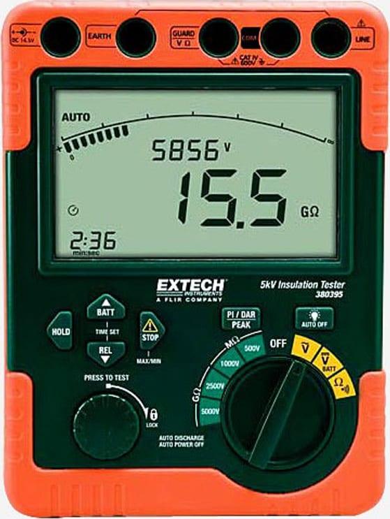 Extech 380396 Digital High Voltage Insulation Tester