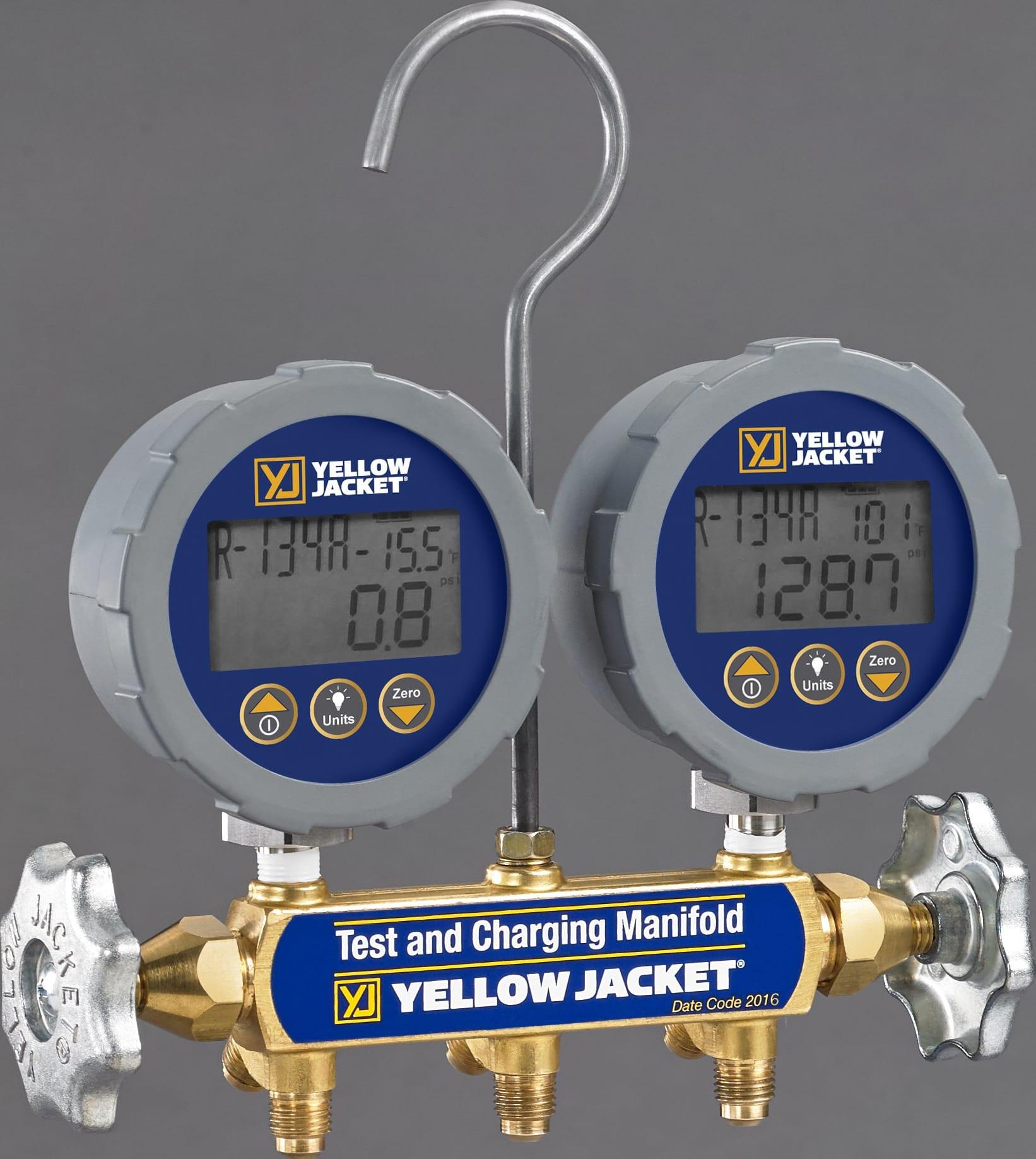 YELLOW JACKET SERIES 41 DIGITAL MANIFOLD 46060