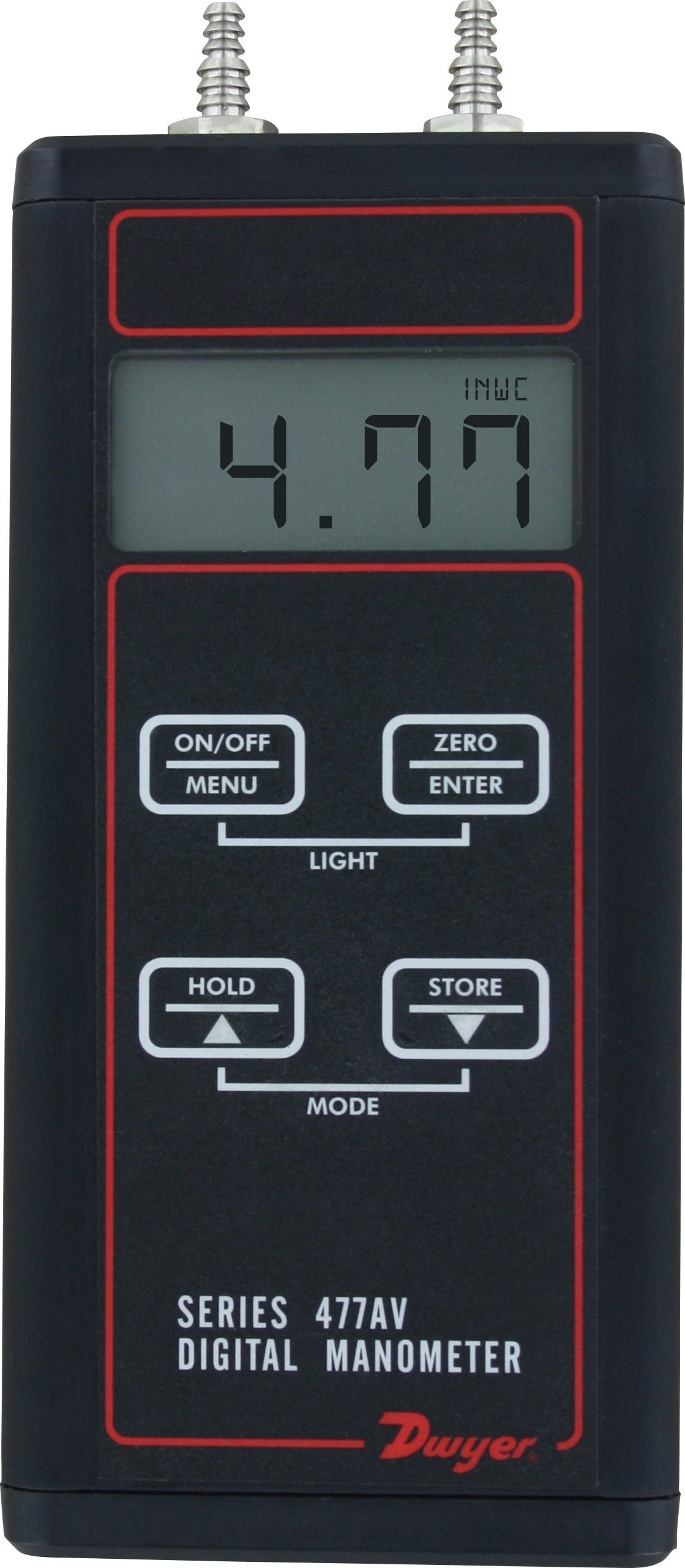 Series 477AV Handheld Digital Manometer