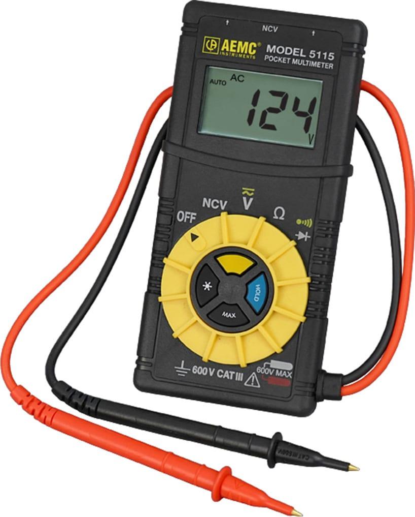 AEMC 5115 Pocket Multimeter