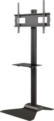 AVS631G_Floor_stand_with_metal_shelf_main_view