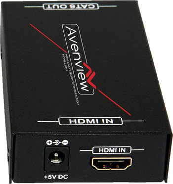 Smartavi MINI-XTS VGA Extender Tx//Rx with Audio over Cat5e//6 up to 1000 ft