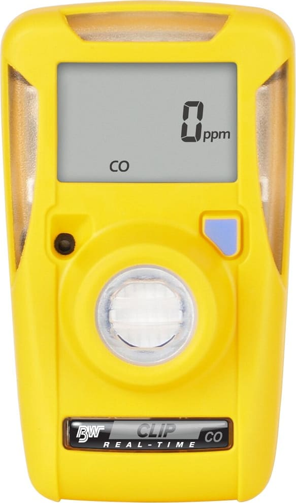 BW Clip Carbon Monoxide (CO) Single Gas Detector