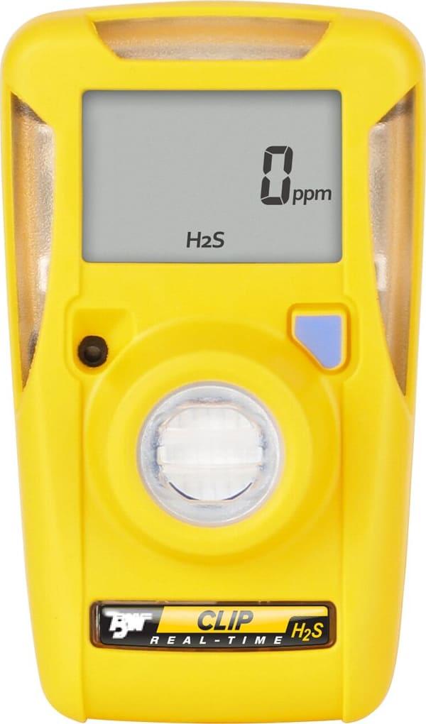 BW Clip Hydrogen Sulfide (H2S) Single Gas Detector