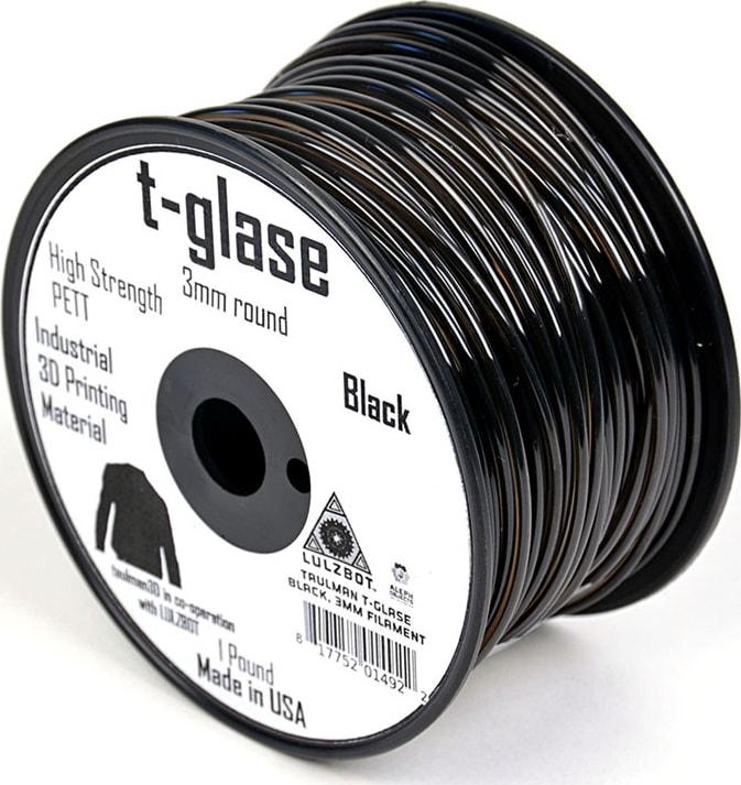 Lulzbot RM-PE0005 T-glase Filament - Black