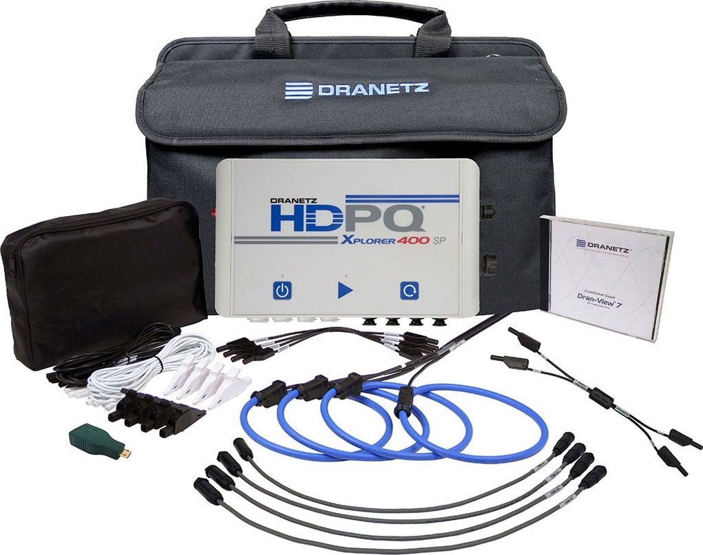 Dranetz HDPQ-SPX4AFLEX3KPKG HDPQ-SP Xplorer 400 30/300/3000A FLEX Package