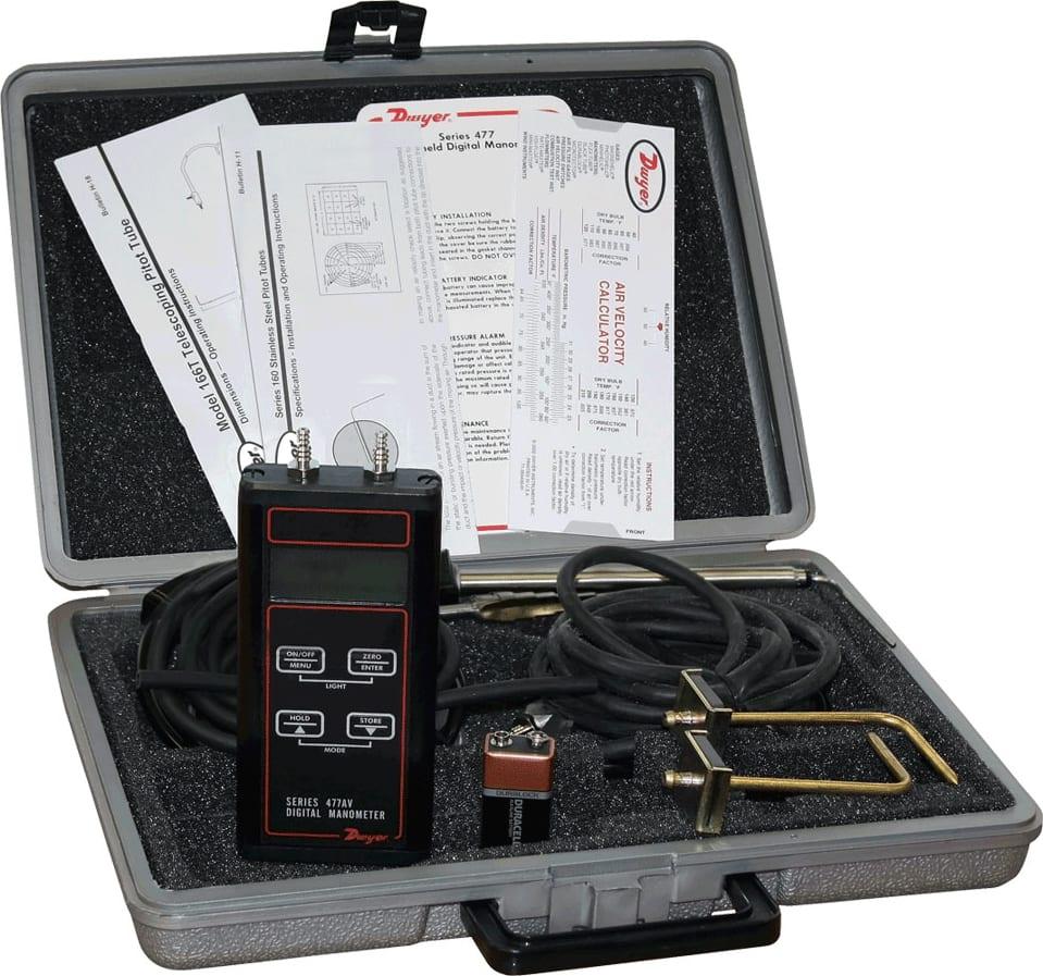 Dywer Series 477-1T-AV Air Velocity Kits