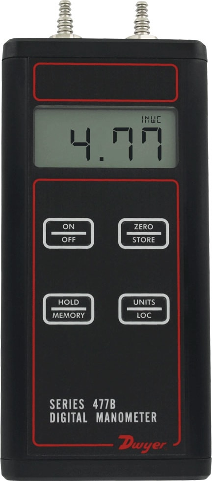 Dwyer 477B Handheld Digital Manometer