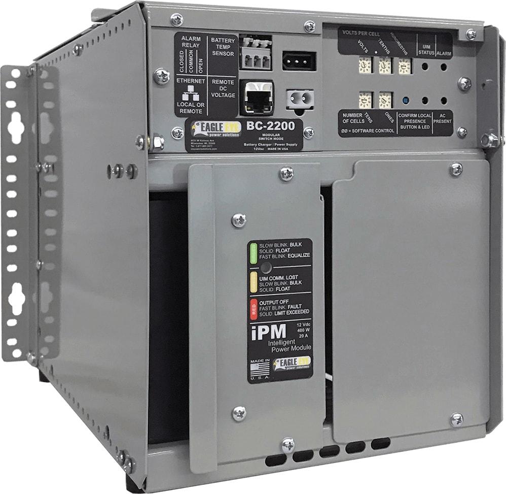Eagle Eye BC-2200-24-10-2 Float Battery 24V, 10A 2-Bay