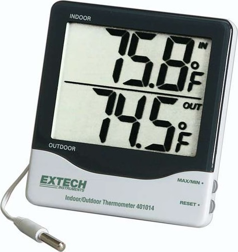 Extech 401014A Big Digit Indoor/Outdoor Thermometer