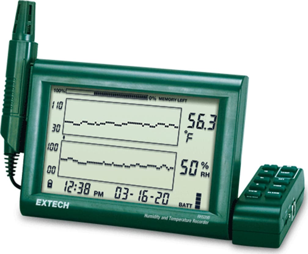 Extech RH520B Humidity and Temperature Chart Recorder