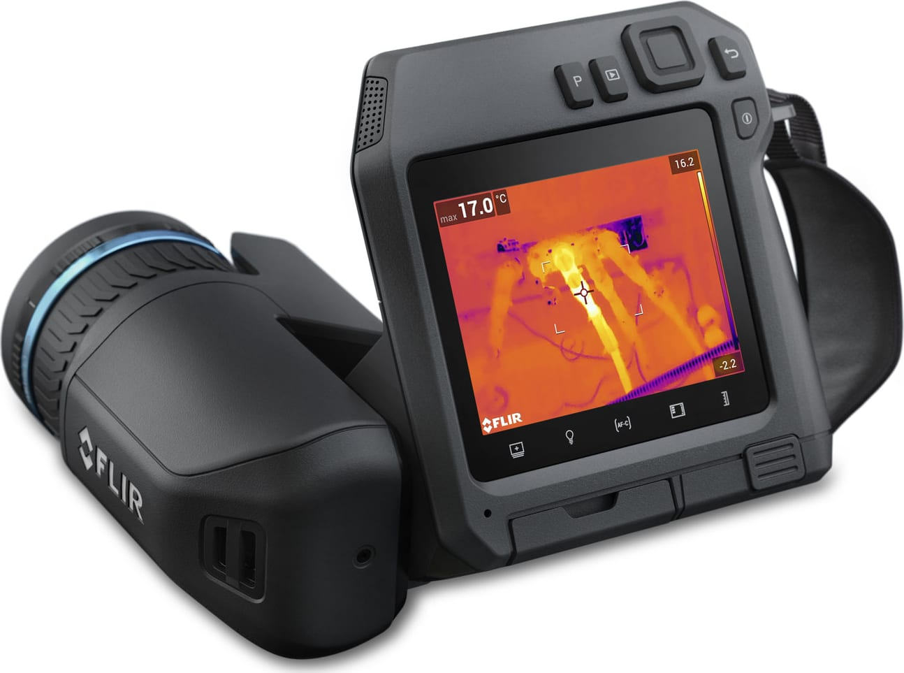 FLIR T540sc Scientific Thermal Imagers - Detector Size: 464