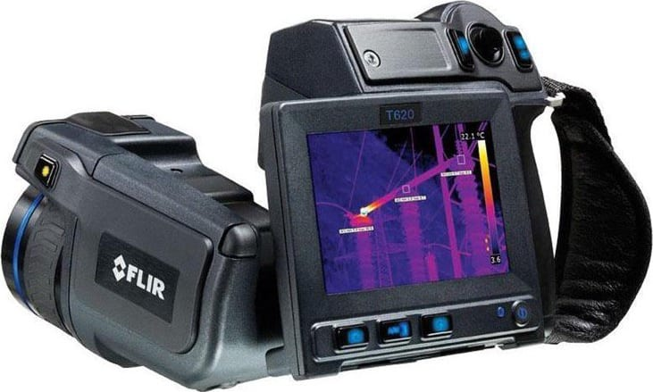 FLIR_T620-25_Industrial_Thermal_Camera_640x480_Resolution-30Hz_With_25_Degree_Lens_Main_View