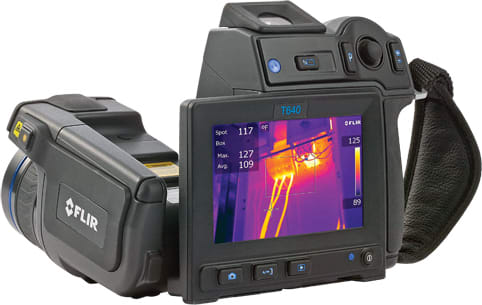 FLIR T640-25 Thermal Imaging Infrared Camera 640 x 480 Resolution/30Hz with 25 Lens
