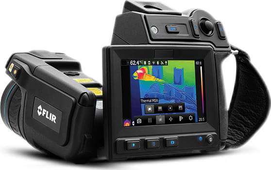FLIR T650sc/T630sc Portable Thermal Imaging Cameras