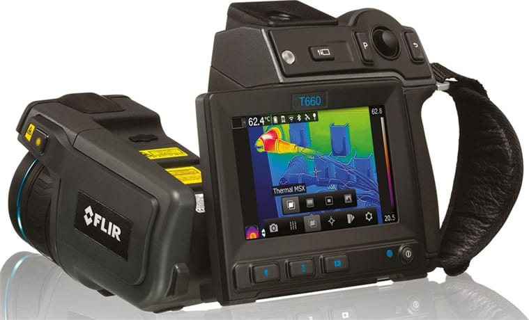 FLIR_T660-KIT-45_Infrared_Camera_With_Standard_25_Degree_Lens_And_Optional_45_Degree_Lens_Main_View