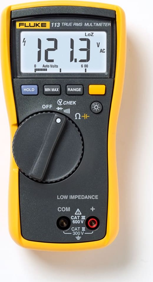 Fluke 113 True RMS Utility Electrical Multimeter