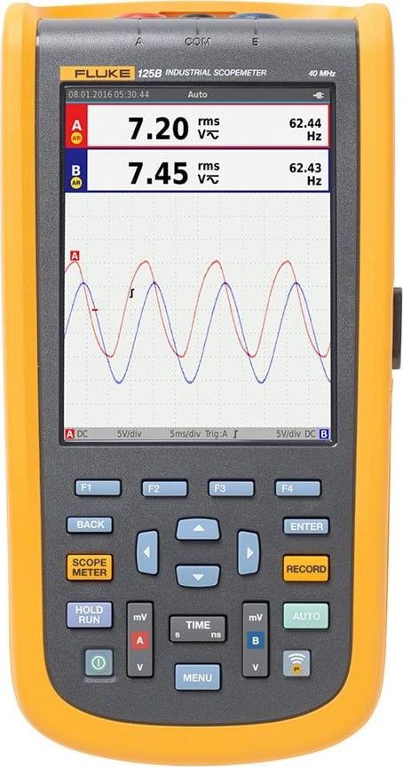 Fluke 125B/NA Industrial Scopmeter 40MHZ