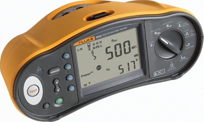Fluke 1662 Multifunction Installation Tester