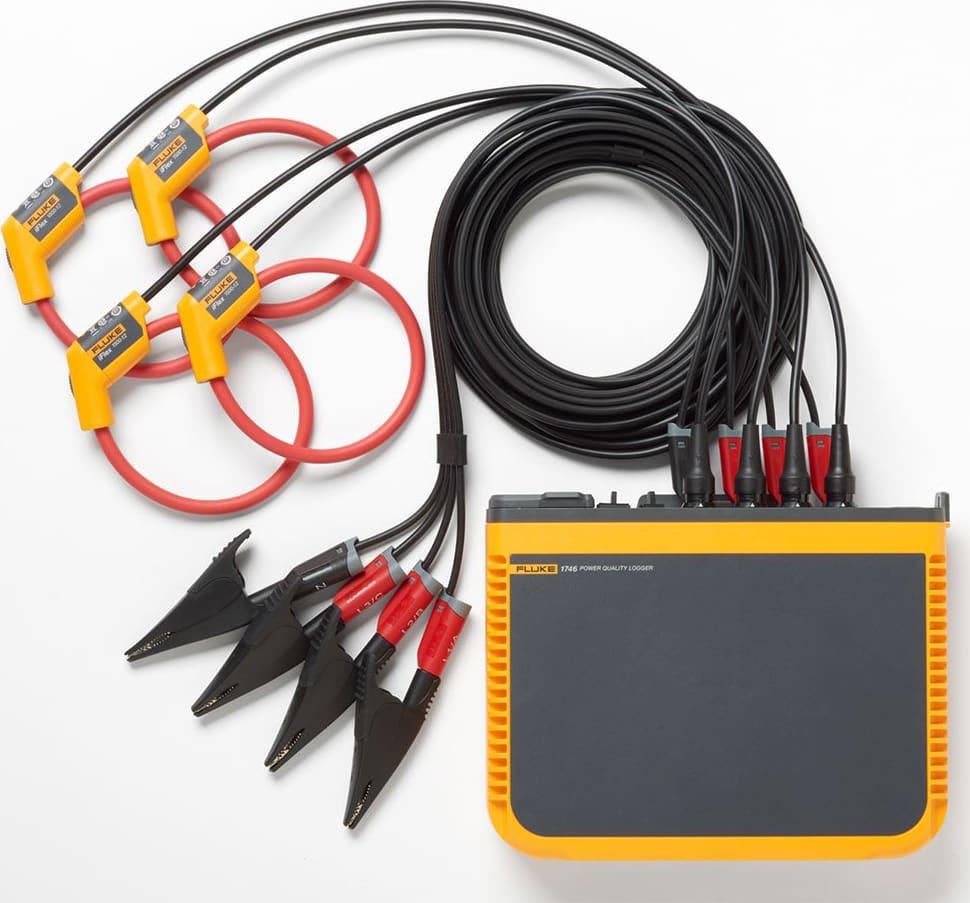 Fluke 1746 Power Loggers - Three-Phase Power Quality Loggers