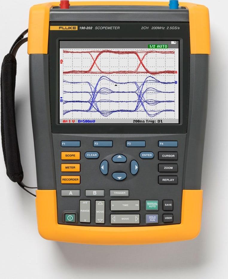 Fluke 190-202/AM ScopeMeter 2 Channel