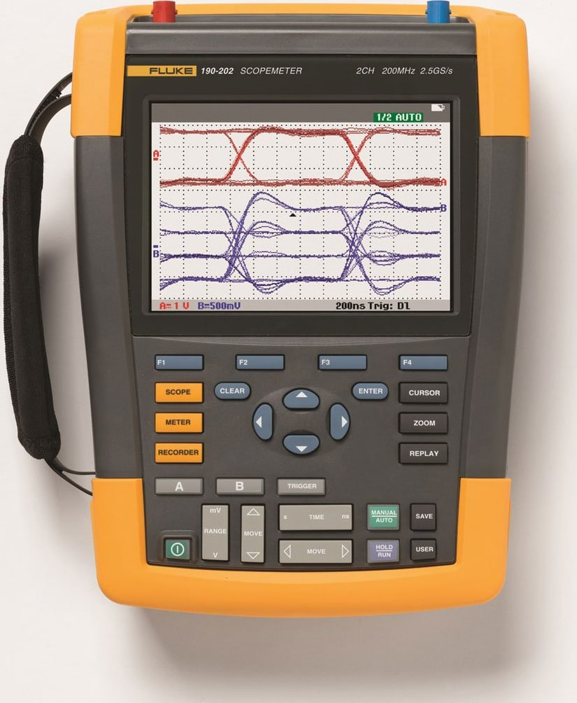 Fluke 190-204/AM/S ScopeMeter 4 Channel 200 MHZ