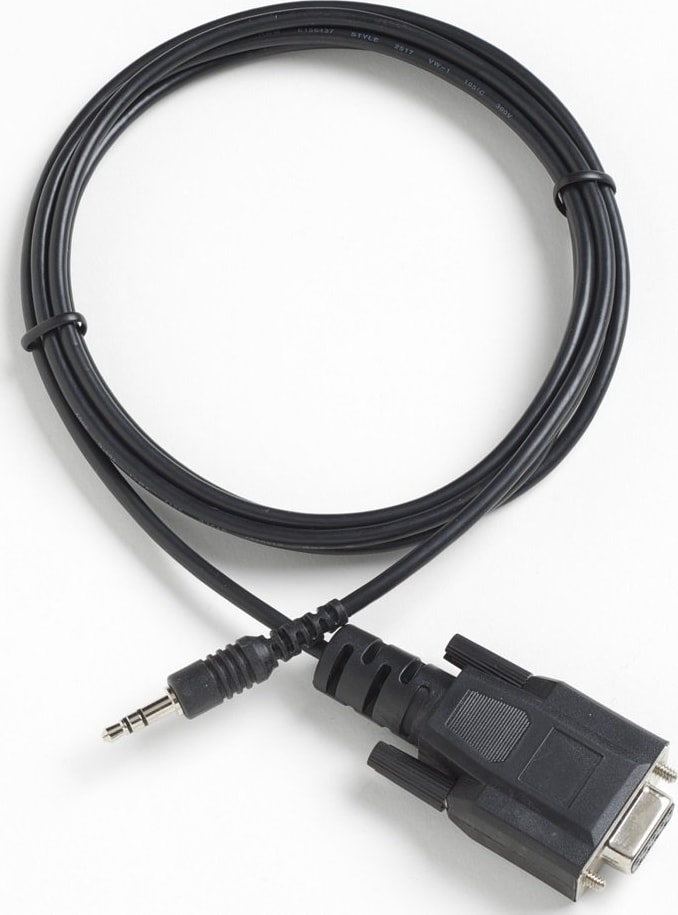 Fluke 2370 RS-232 Cable for Fluke 1523/1524 Reference Thermometers