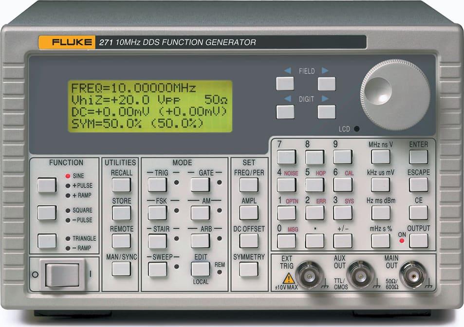 Fluke 271-U 115V 10 MHz DDS Function Generator with ARB
