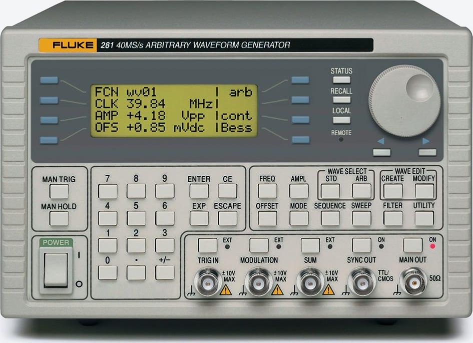 Fluke 281-U 115V Universal Waveform Generator