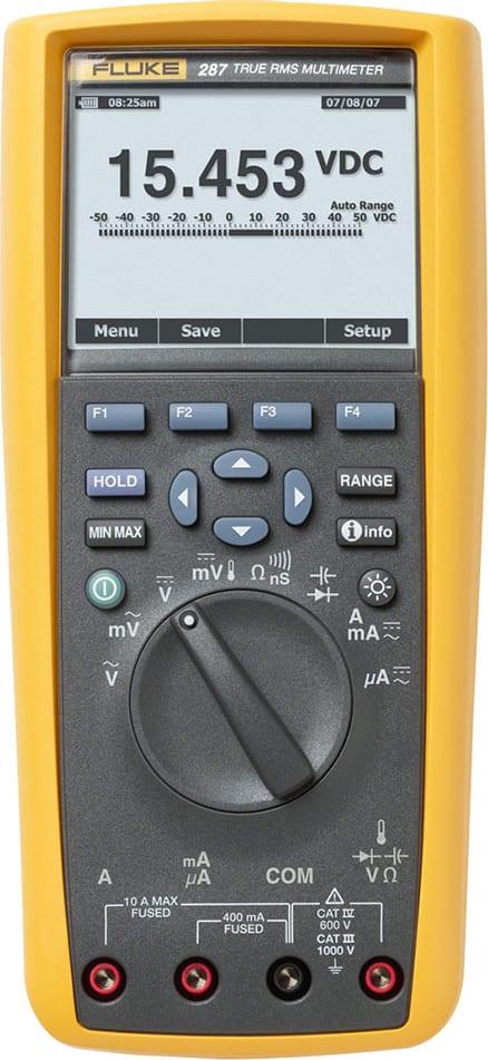 Fluke 287 Handheld Multimeter True RMS Electronics