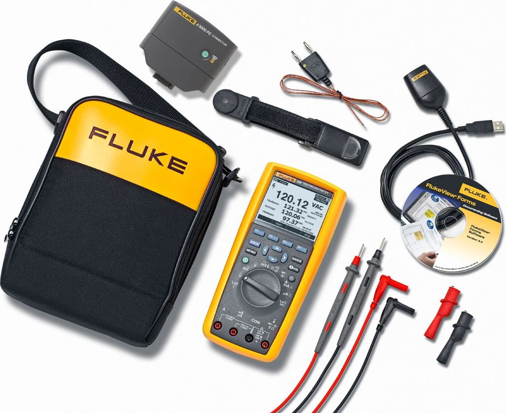Fluke 289/FVF/IR3000 Multimeter with Software and Wireless Connectivity Kit