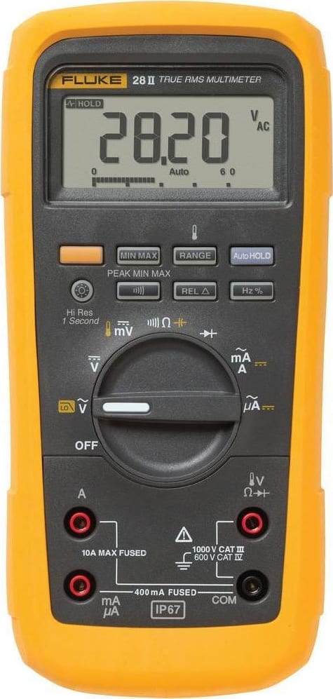 Fluke 28-II Rugged IP 67 Industrial Multimeter
